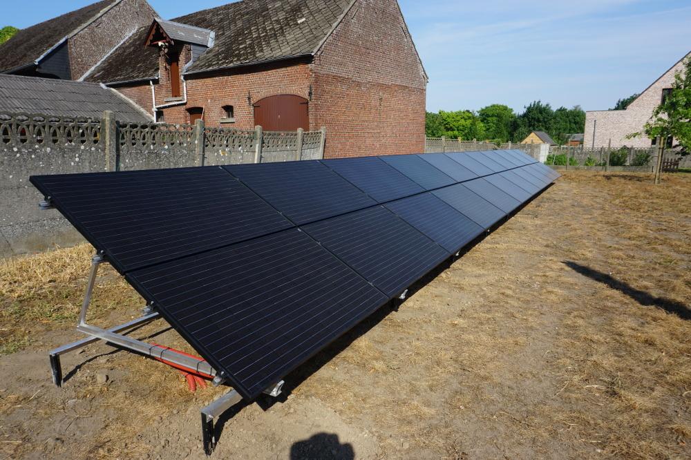 Installation solaire photovoltaïque au sol