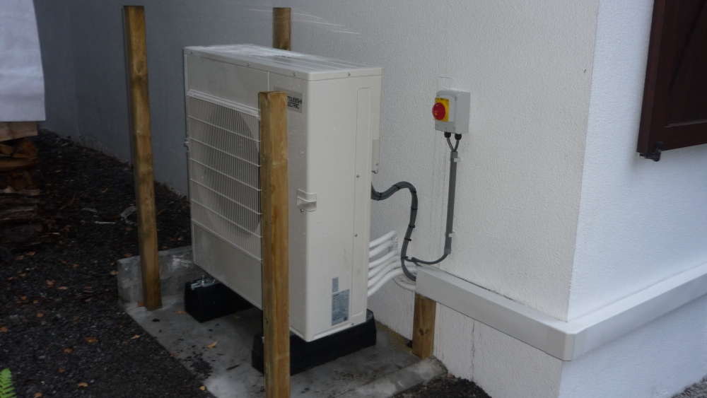 Hyper heating 9 kw a - 15°C